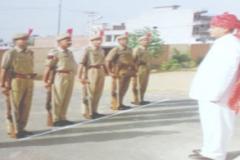 RN Arvind Receiving Guard of Honour at Hanumangarh